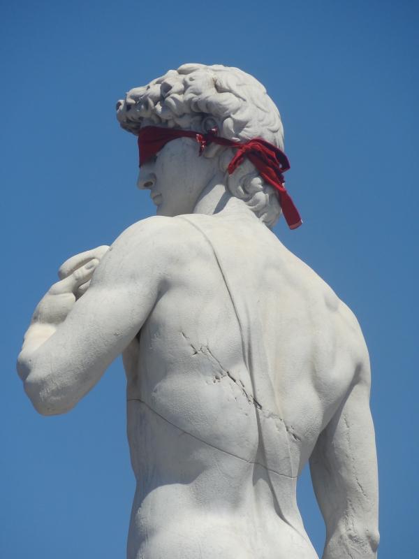 David, ou La beauté a les yeux bandés ?