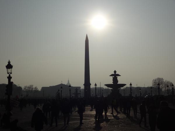 Grève, piquet, soleil et Concorde