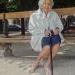 A grand-mère, souvenir d'un jour de soleil