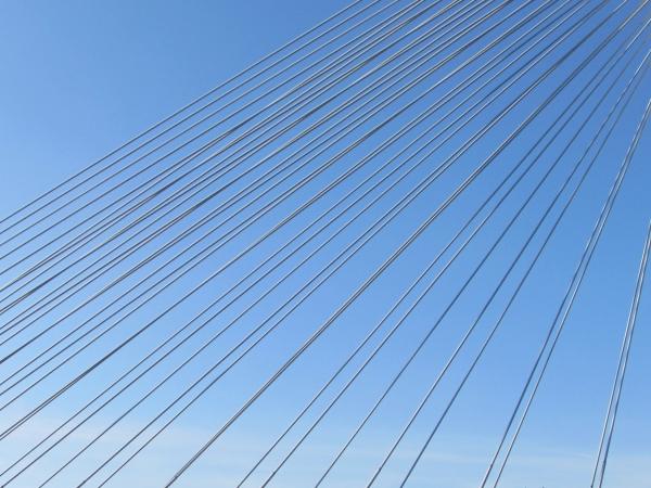 Trois vues du pont Térénez/3