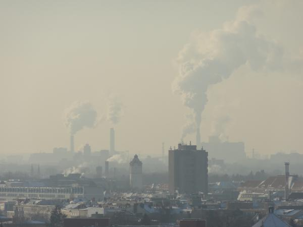 La ville en fumée
